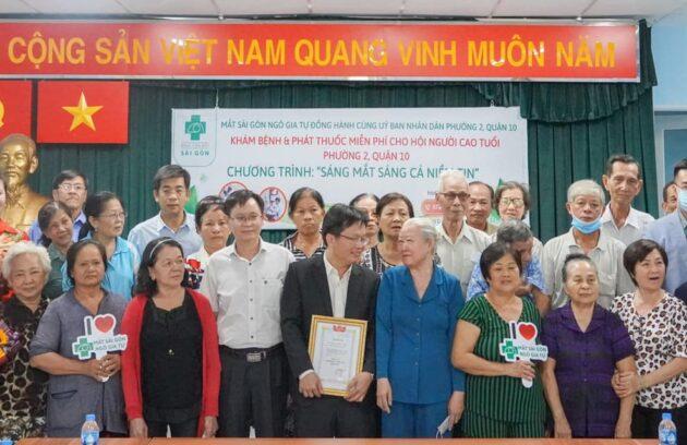 """Bệnh Viện Mắt Sài Gòn Tổ Chức Lễ Khai Mạc Chương Trình """"Sáng Mắt Sáng Cả Niềm Tin"""" Năm 2021."""