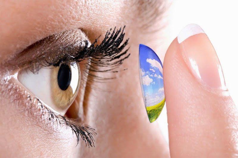 lưu ý khi sử dụng kính áp tròng