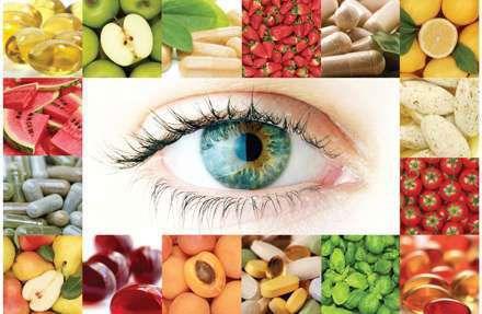 dinh dưỡng phòng bệnh ở mắt