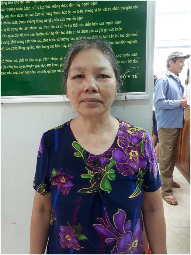 Bà Nguyễn Thị Hạnh