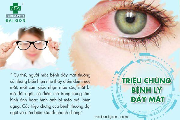triệu chứng bệnh lý đáy mắt