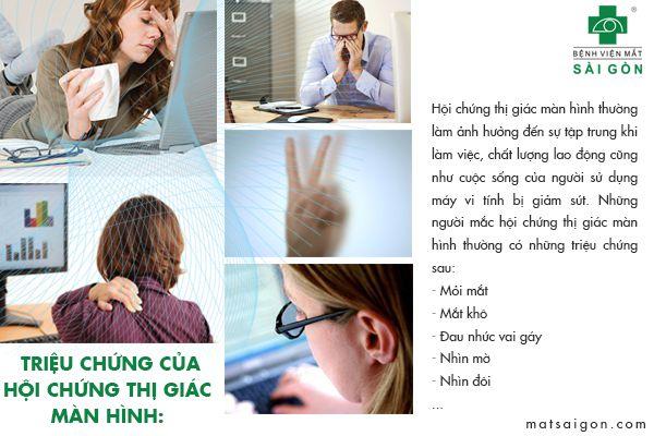 triệu chứng hội chứng thị giác màn hình