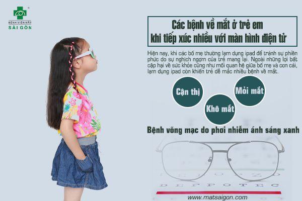 Trẻ có nguy cơ bị bệnh về mắt khi tiếp xúc nhiều với ipad-2