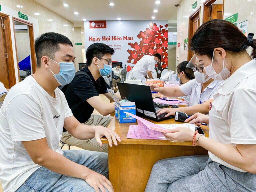 Mắt Sài Gòn Đường Láng tổ chức hiến máu an toàn giữa mùa dịch
