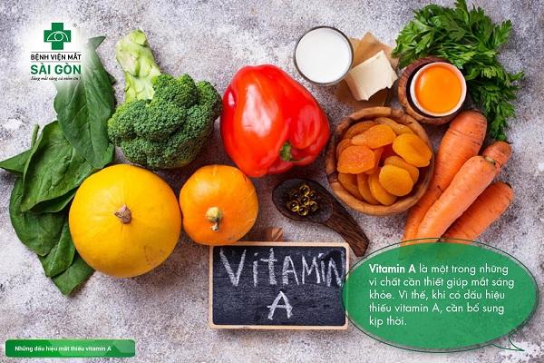 Những dấu hiệu mắt thiếu vitamin A và các cách bổ sung