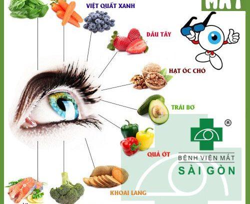 10 thực phẩm tốt cho mắt giúp mắt sáng khỏe